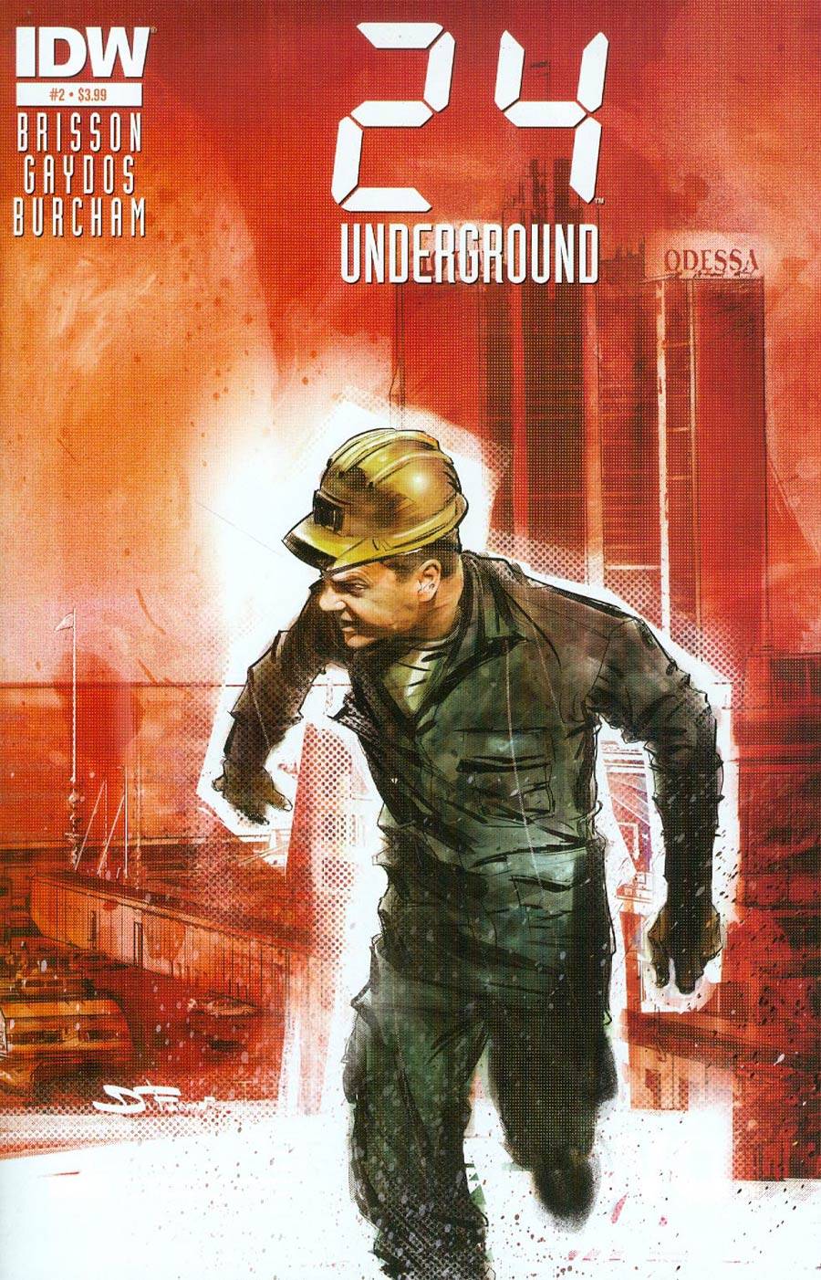 24 Underground #2 Cover A Regular Davide Furno Cover