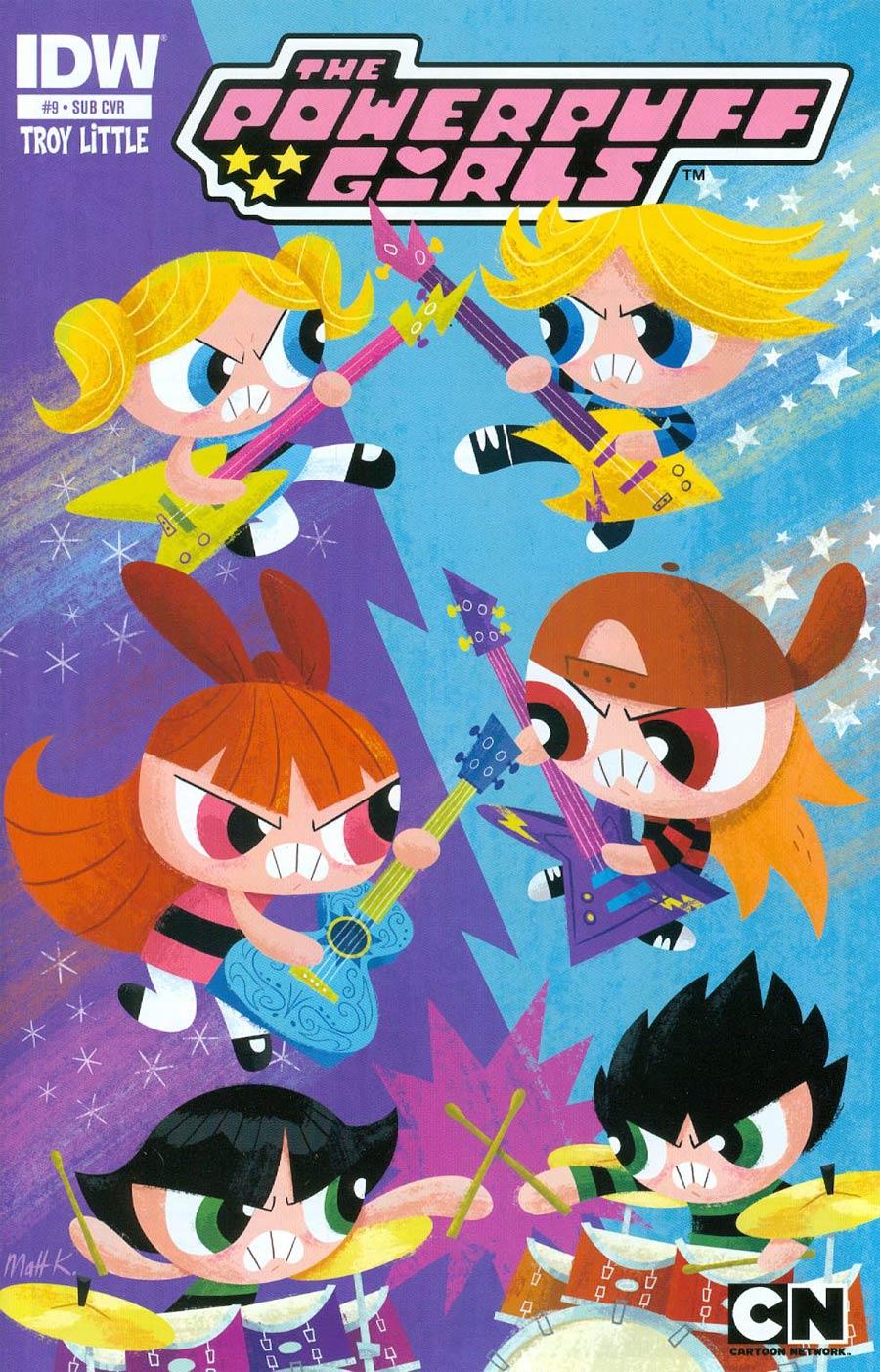 Powerpuff Girls Vol 2 #9 Cover B Variant Matt Kaufenberg Subscription Cover