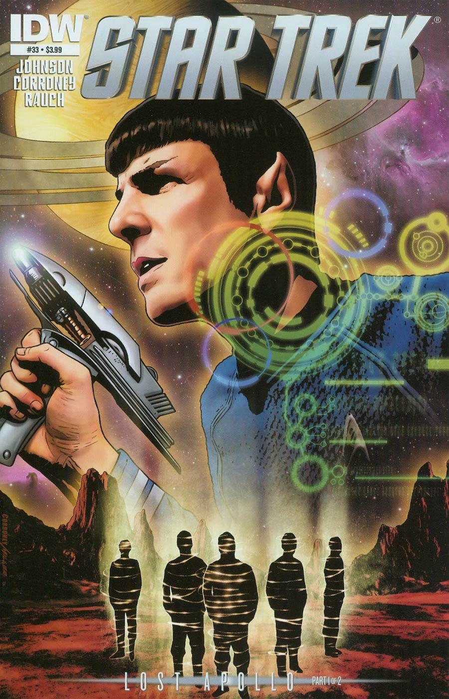 Star Trek (IDW) #33 Cover A Regular Joe Corroney Cover