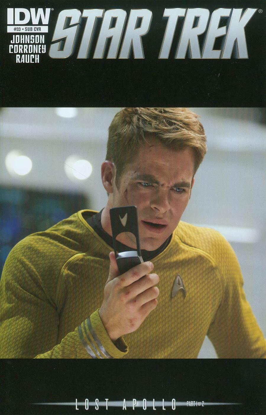 Star Trek (IDW) #33 Cover B Variant Photo Subscription Cover