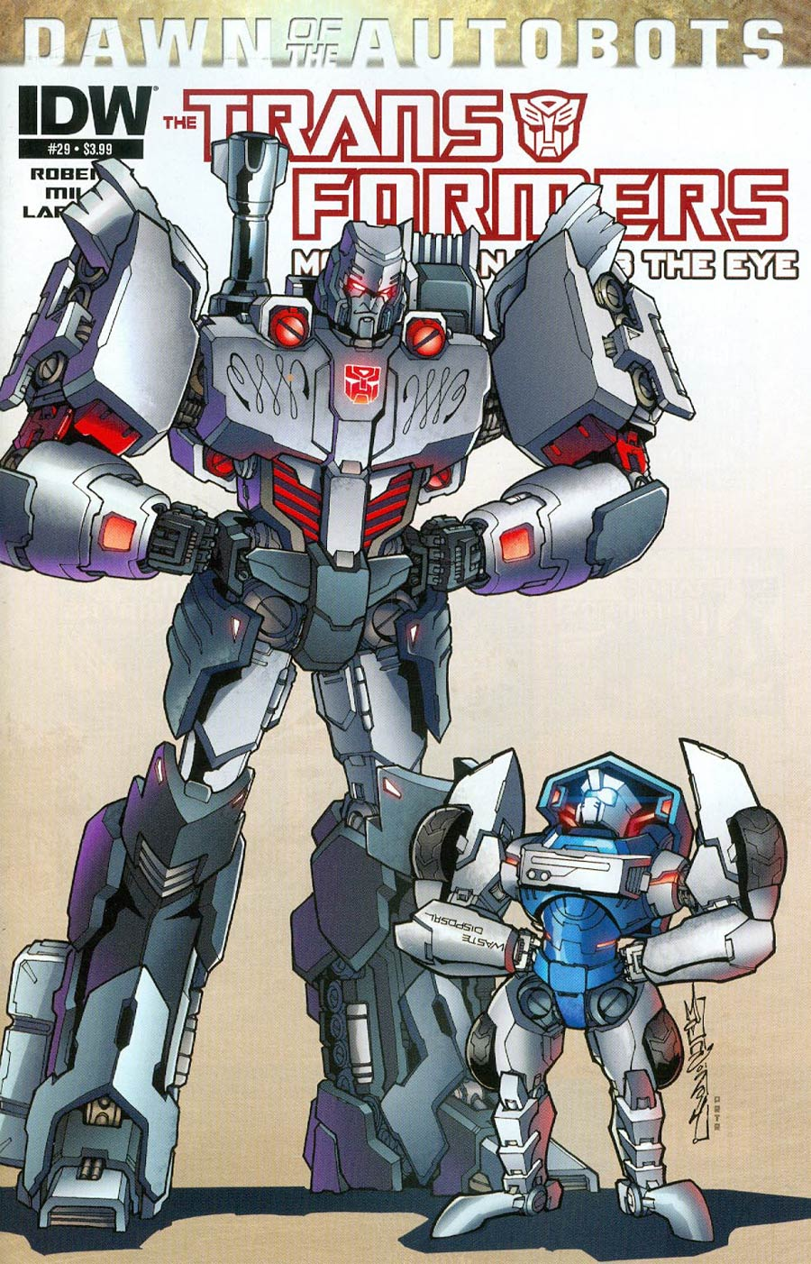 Transformers More Than Meets The Eye #29 Cover A Regular Alex Milne (Dawn Of The Autobots Tie-In)
