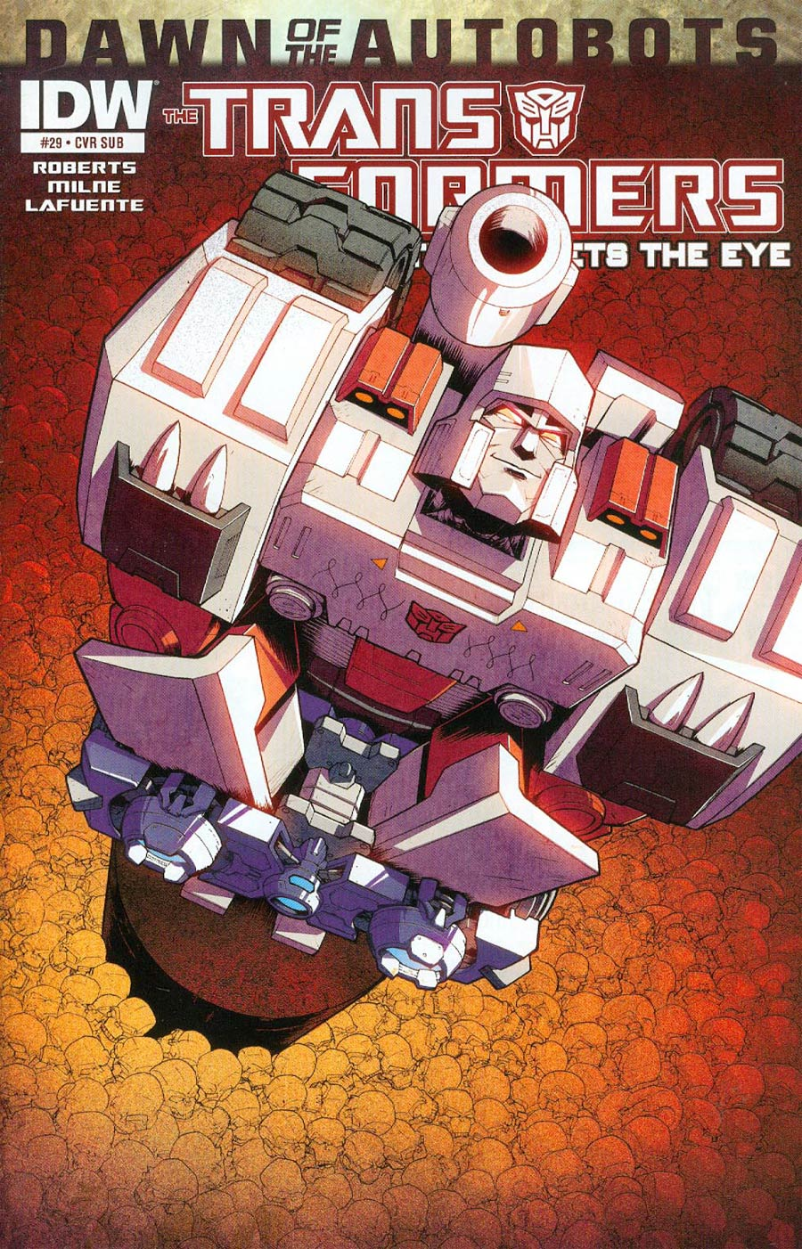 Transformers More Than Meets The Eye #29 Cover B Variant Nick Roche Subscription Cover (Dawn Of The Autobots Tie-In)