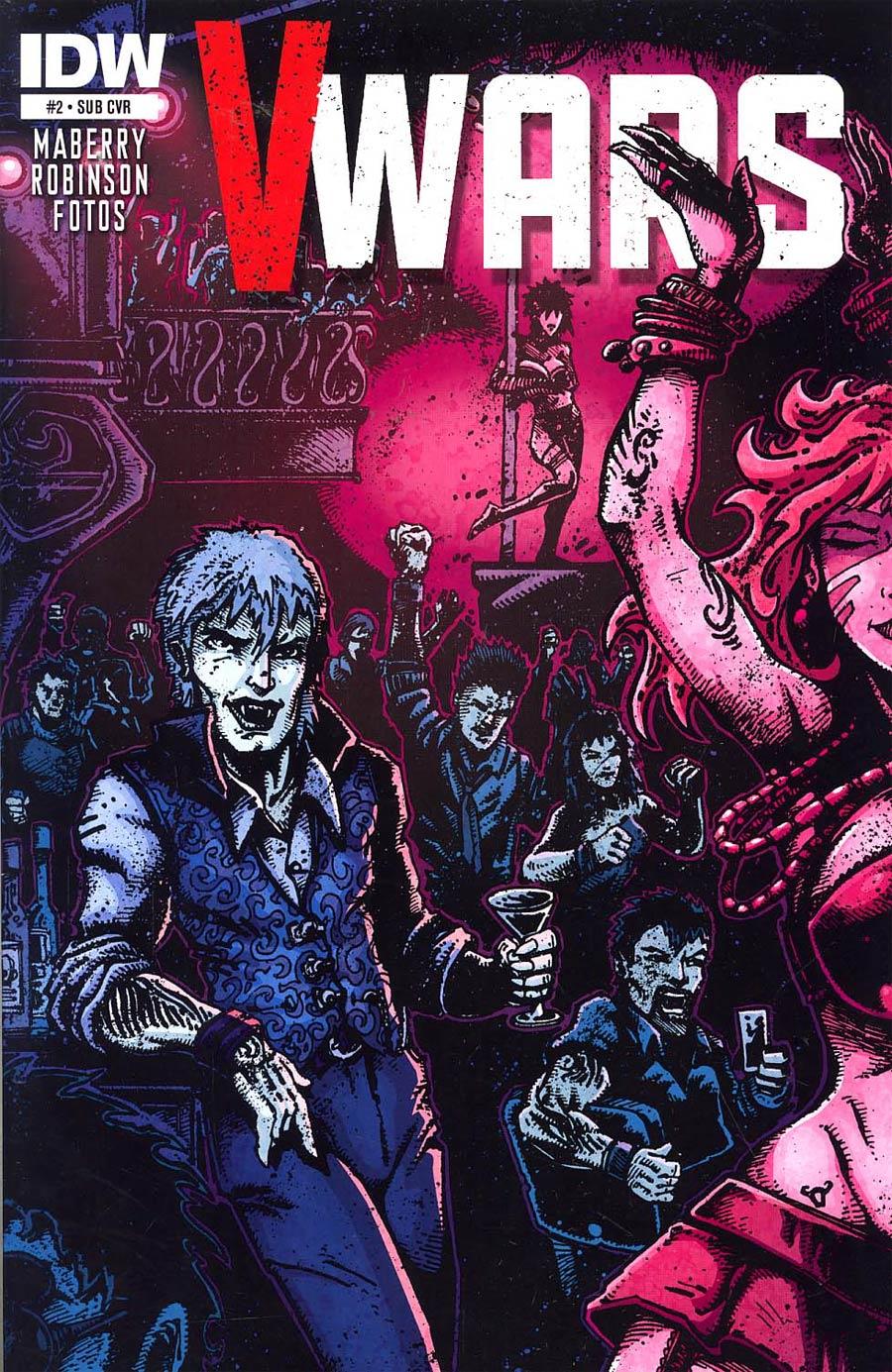 V-Wars #2 Cover B Variant Kevin Eastman Subscription Cover