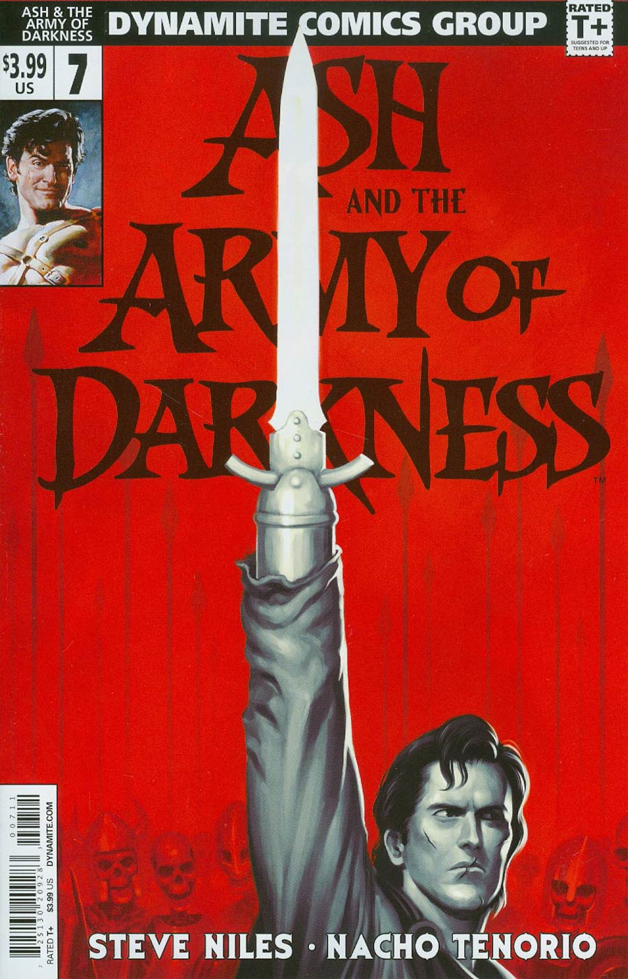 Ash And The Army Of Darkness #7 Cover A Regular Justin Erickson Cover