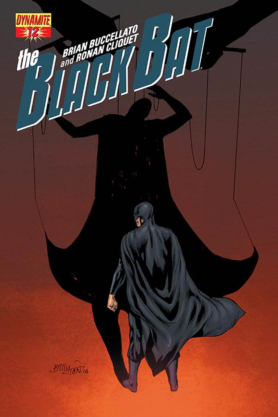 Black Bat #12 Cover B Variant Billy Tan Subscription Cover