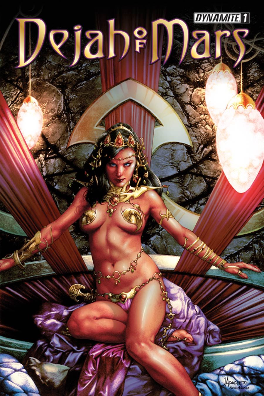 Dejah Of Mars #1 Cover A Regular Jay Anacleto Cover