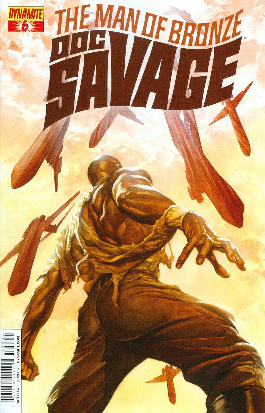 Doc Savage Vol 5 #6 Cover A Regular Alex Ross Cover