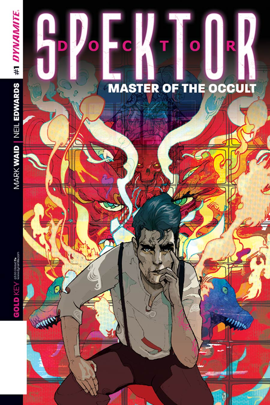 Doctor Spektor Master Of The Occult #1 Cover A Regular Christian Ward Cover