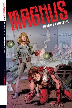 Magnus Robot Fighter Vol 4 #3 Cover B Variant Bob Layton Subscription Cover