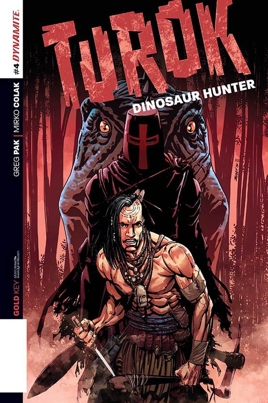 Turok Dinosaur Hunter Vol 2 #4 Cover A Regular Bart Sears Cover