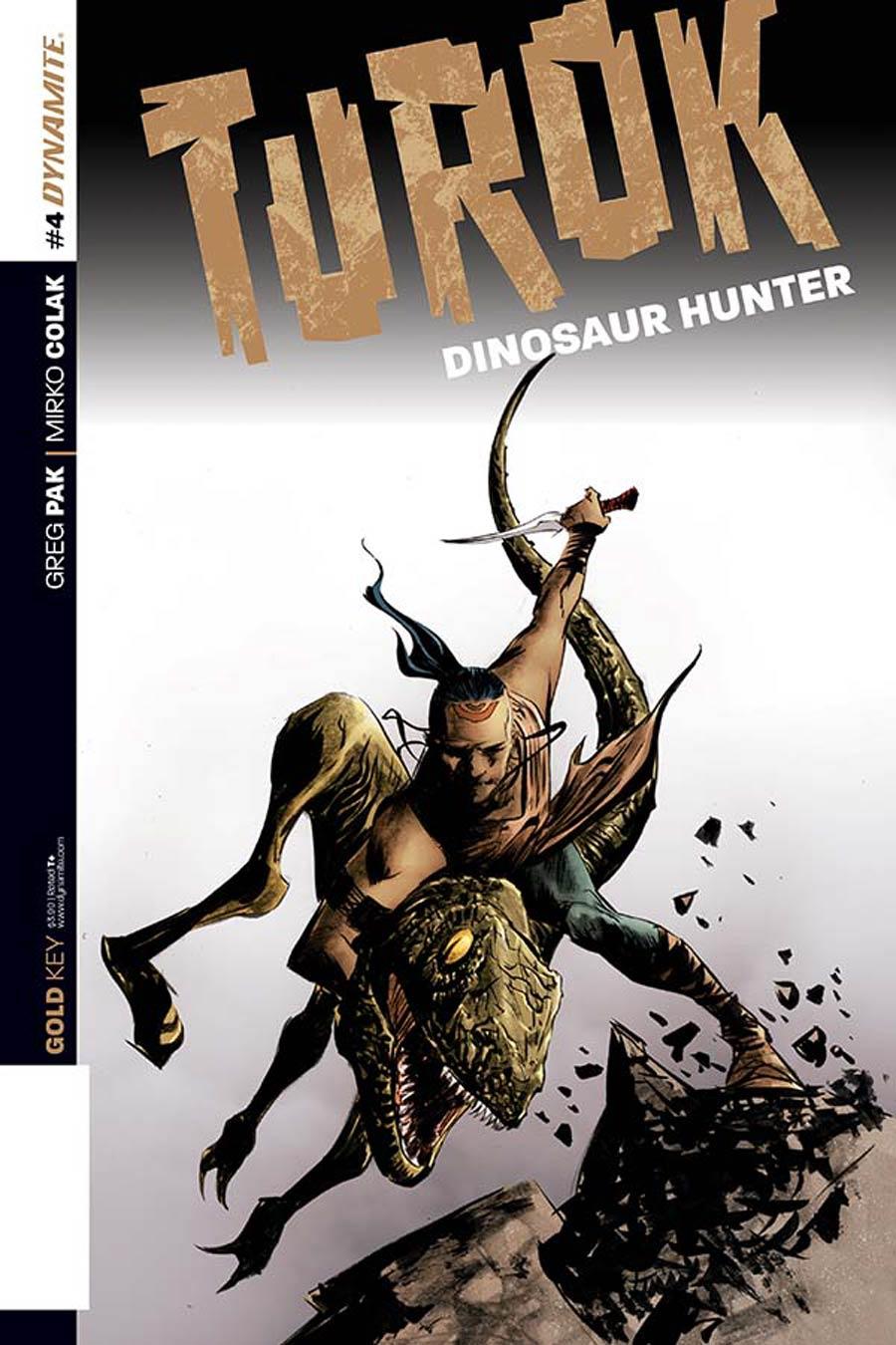 Turok Dinosaur Hunter Vol 2 #4 Cover B Variant Jae Lee Subscription Cover