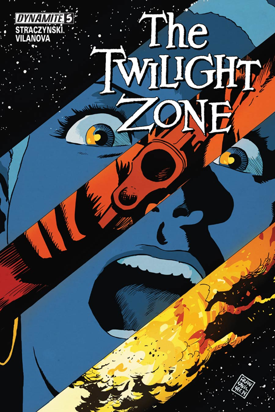 Twilight Zone Vol 5 #5 Cover A Regular Francesco Francavilla Cover