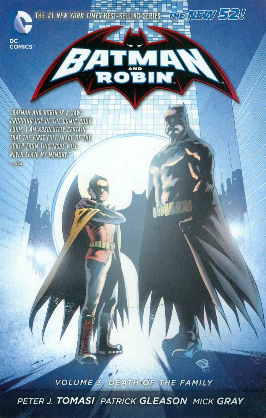 Batman And Robin (New 52) Vol 3 Death Of The Family TP