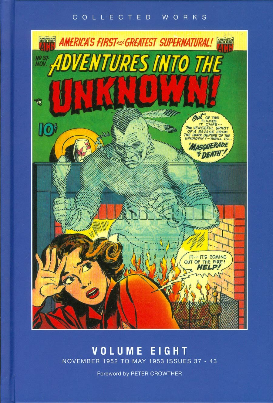 ACG Collected Works Adventures Into The Unknown Vol 8 HC