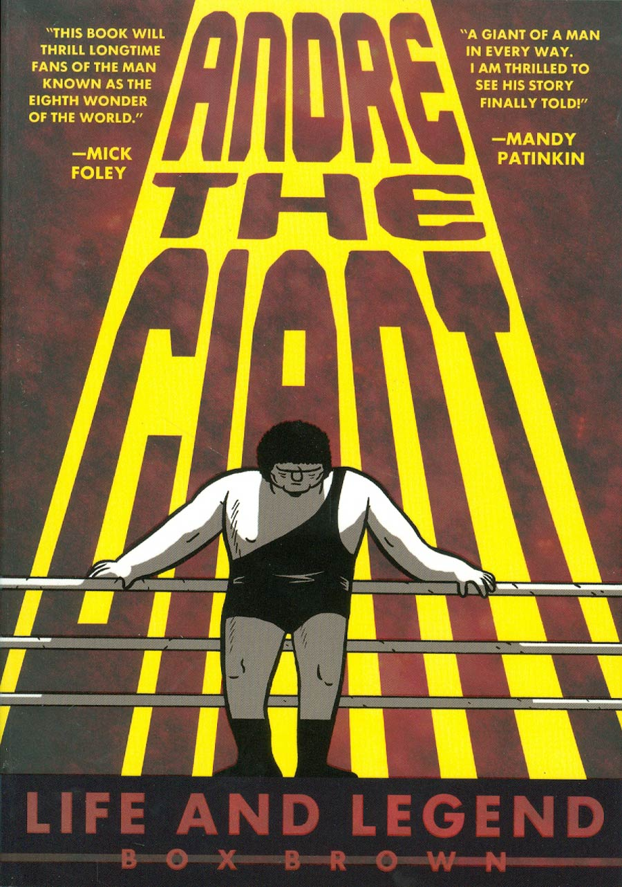 Andre The Giant Life & Legend TP