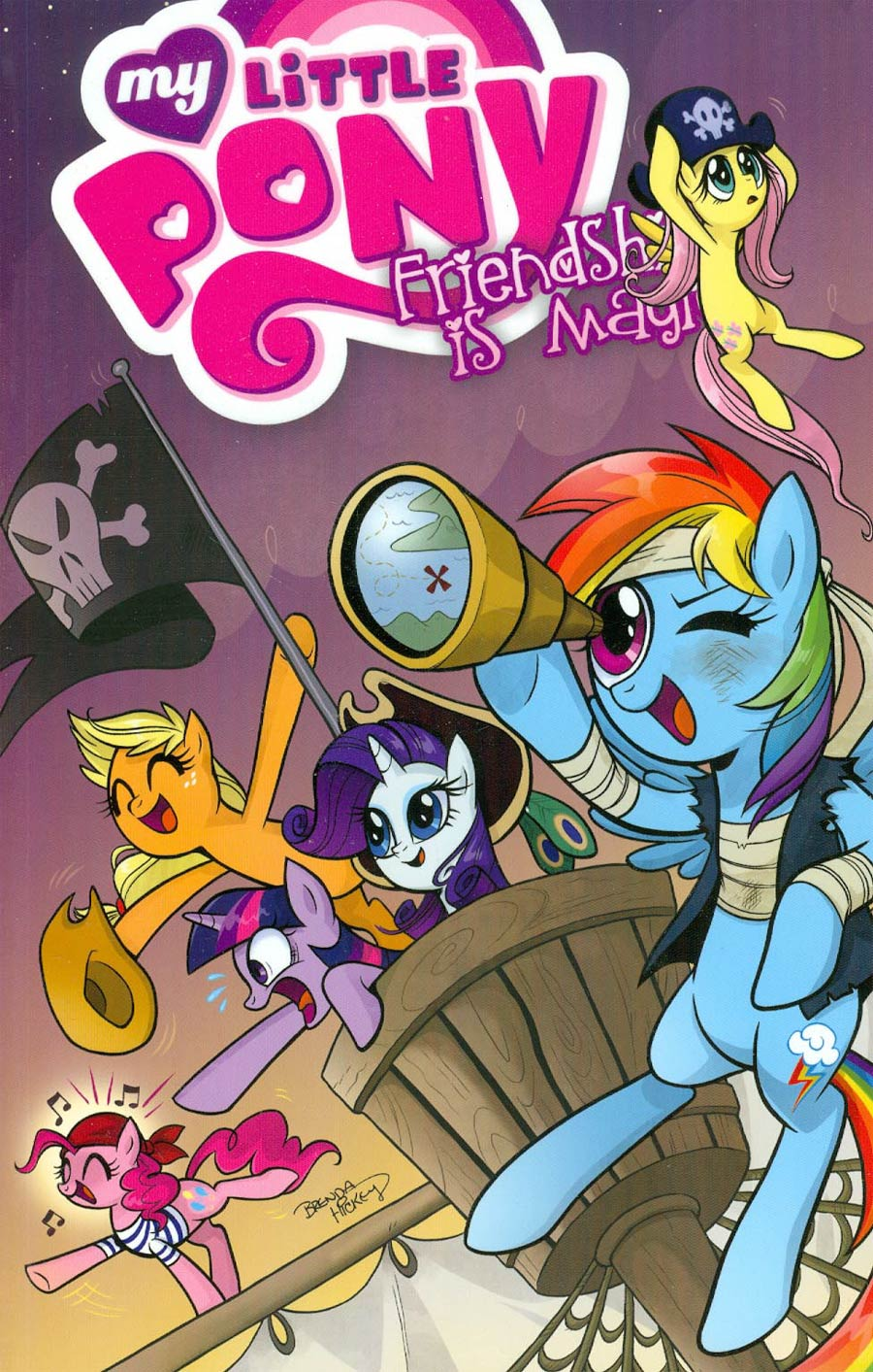 My Little Pony Friendship Is Magic Vol 4 TP