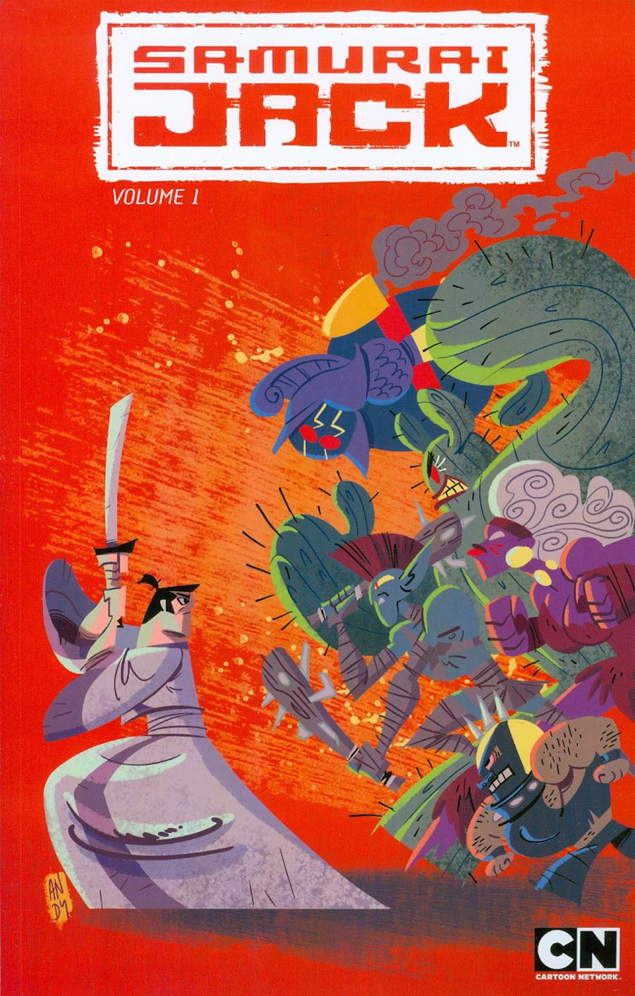 Samurai Jack Vol 1 Threads Of Time TP