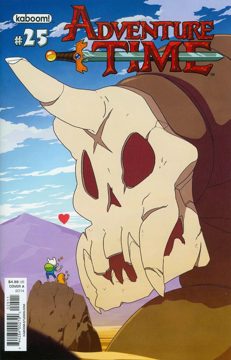 Adventure Time #25 Cover A Regular Matt Cummings Cover
