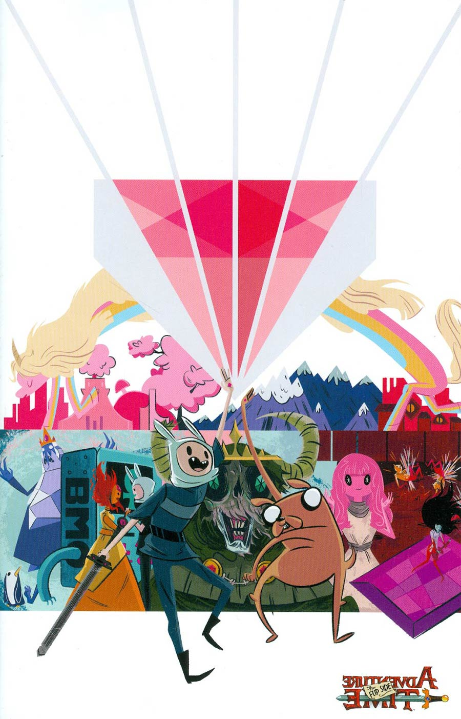 Adventure Time Flip Side #3 Cover C Incentive Heather Danforth Virgin Variant Cover