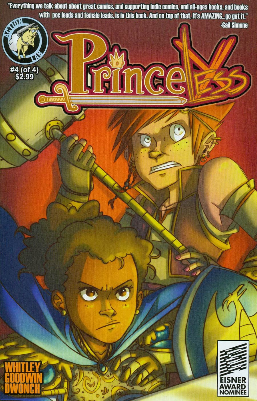 Princeless Encore Edition #4 Cover A M Goodwin