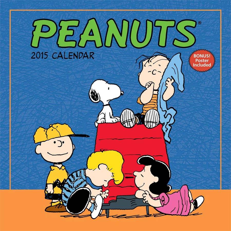 Peanuts 2015 12x12-inch Wall Calendar