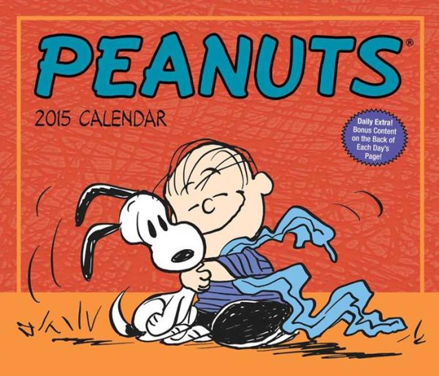 Peanuts 2015 6x5-inch Page-A-Day Calendar