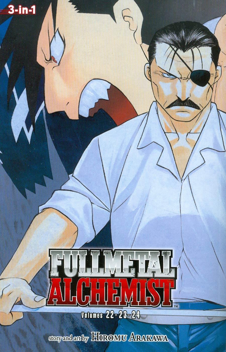 Fullmetal Alchemist 3-In-1 Edition Vols 22 - 23 - 24 TP