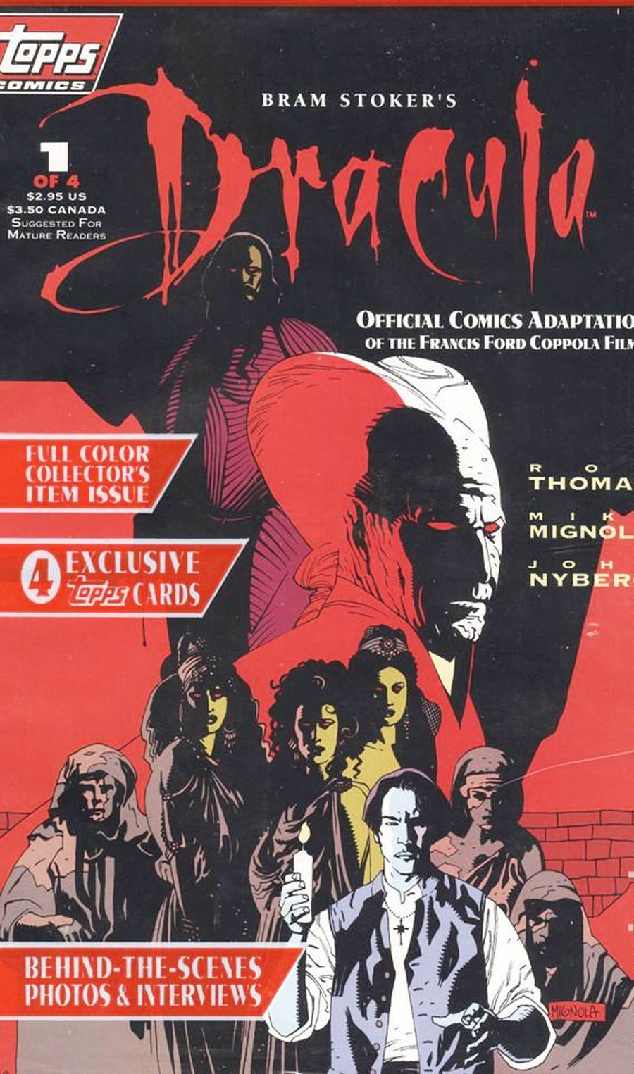 Bram Stokers Dracula #1 1st Ptg With Polybag