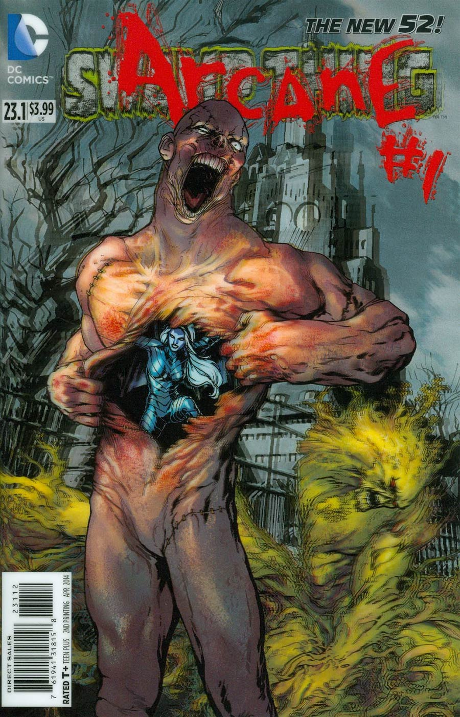 Swamp Thing Vol 5 #23.1 Arcane Cover C 2nd Ptg 3D Motion Cover