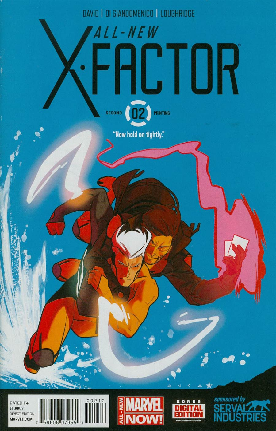 All-New X-Factor #2 Cover C 2nd Ptg Kris Anka Variant Cover