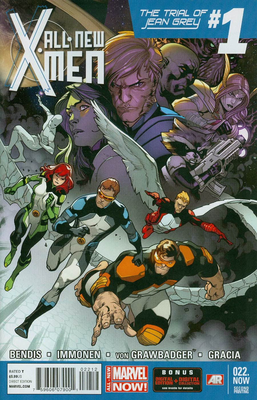 All-New X-Men #22 NOW Cover H 2nd Ptg Stuart Immonen Variant Cover (Trial Of Jean Grey Part 1)