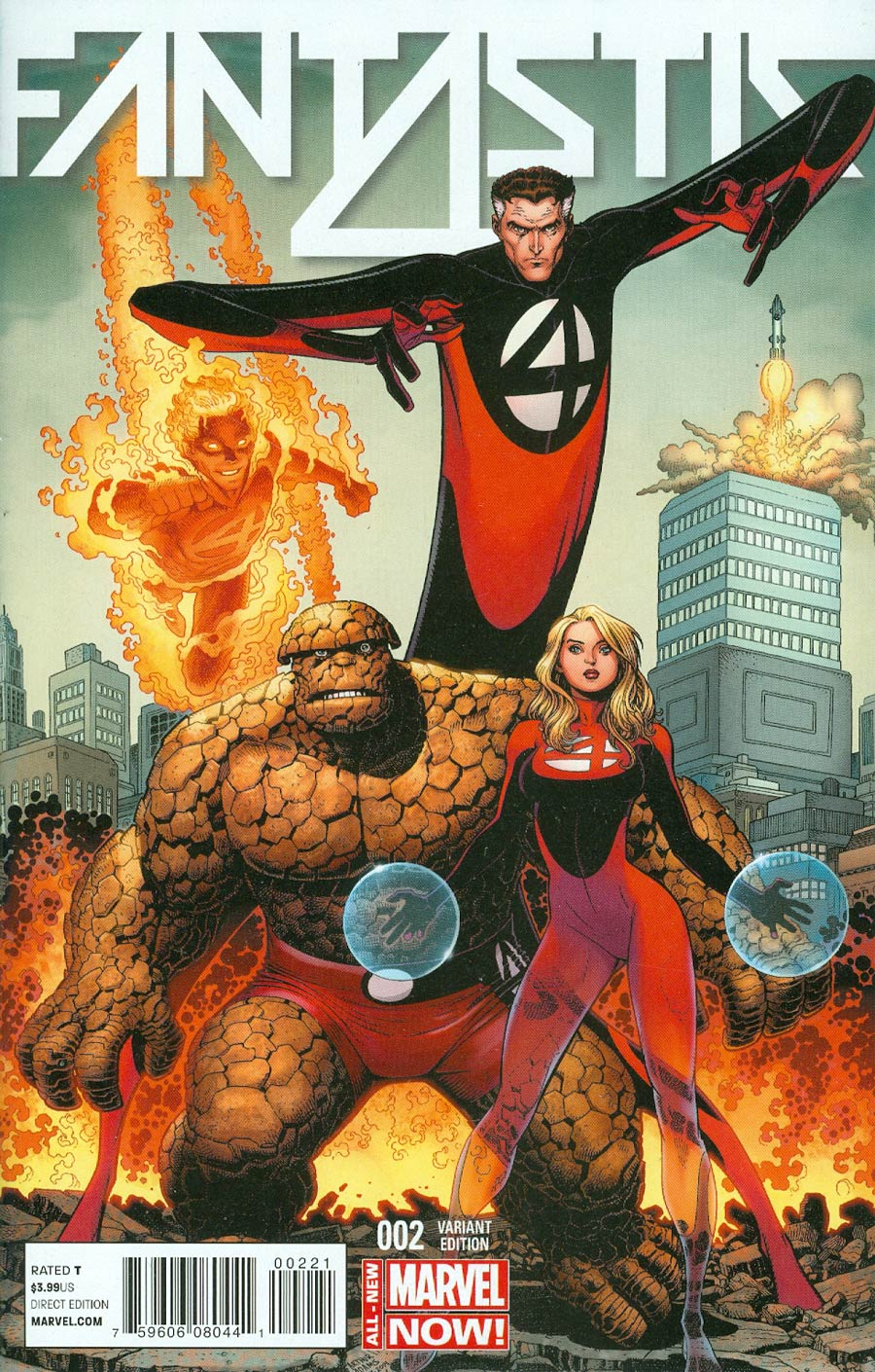 Fantastic Four Vol 5 #2 Cover B Incentive Arthur Adams Variant Cover
