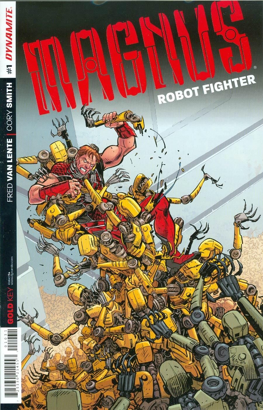 Magnus Robot Fighter Vol 4 #1 Cover I Incentive Tom Fowler Variant Cover