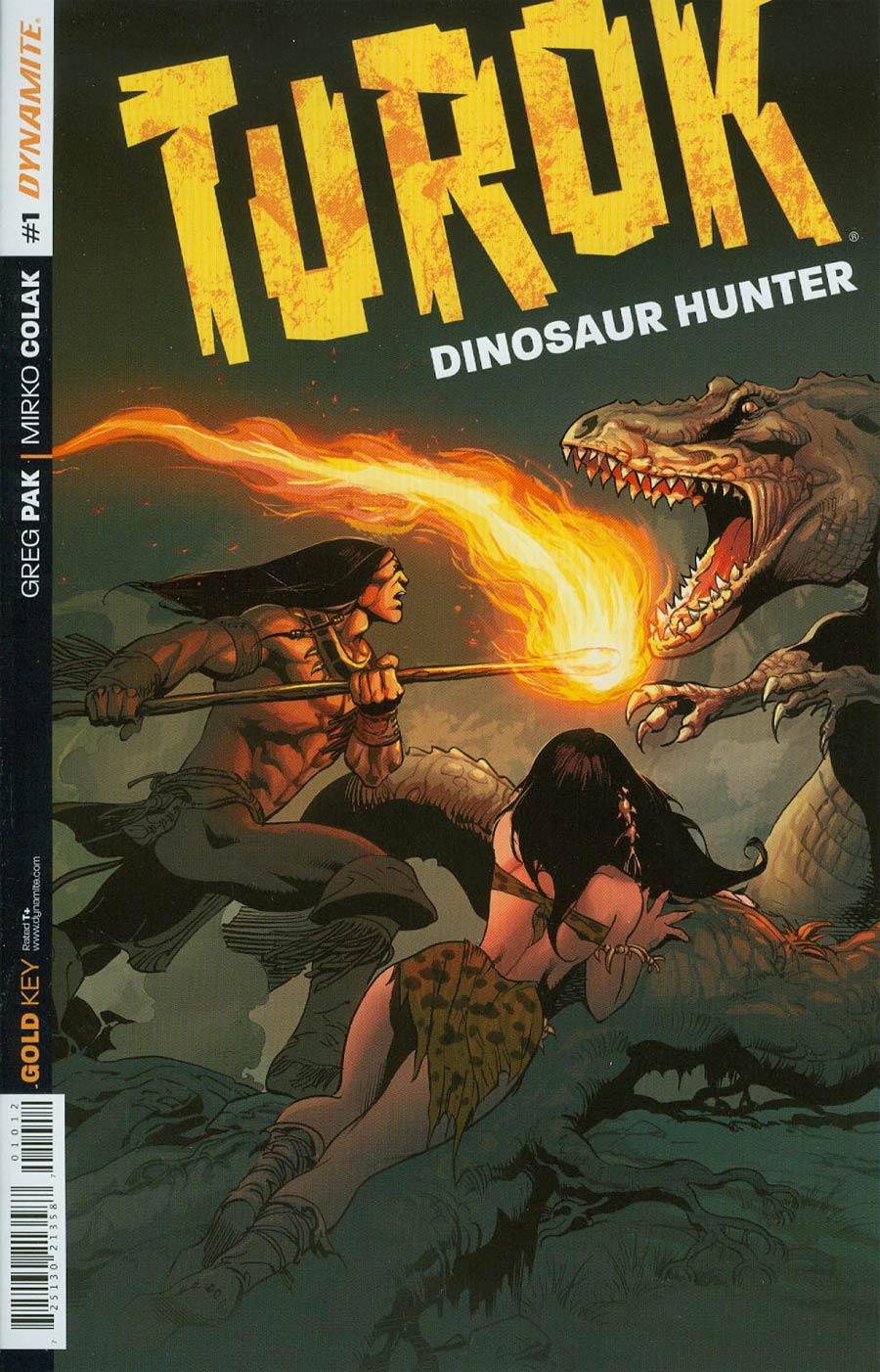 Turok Dinosaur Hunter Vol 2 #1 Cover V 2nd Ptg