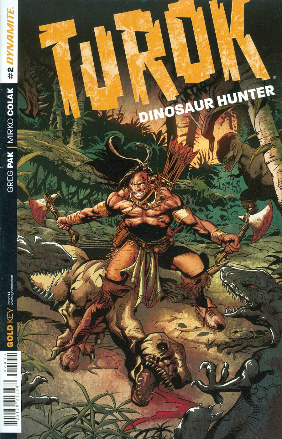 Turok Dinosaur Hunter Vol 2 #2 Cover D Incentive Roberto Castro Variant Cover