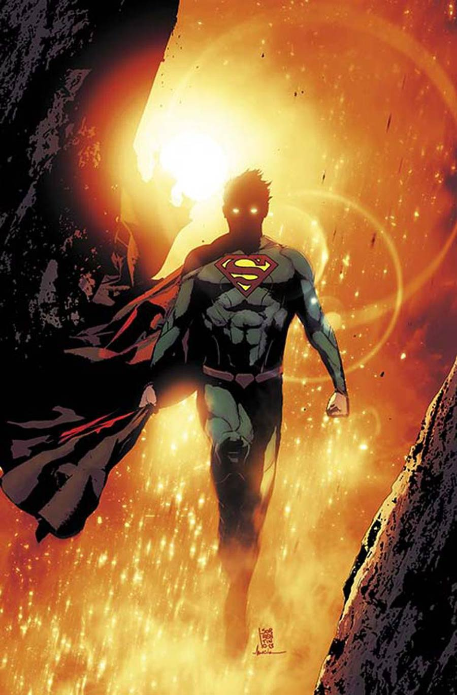 Superman Unchained #6 Cover C Variant 75th Anniversary DC New 52 Cover By Andrea Sorrentino