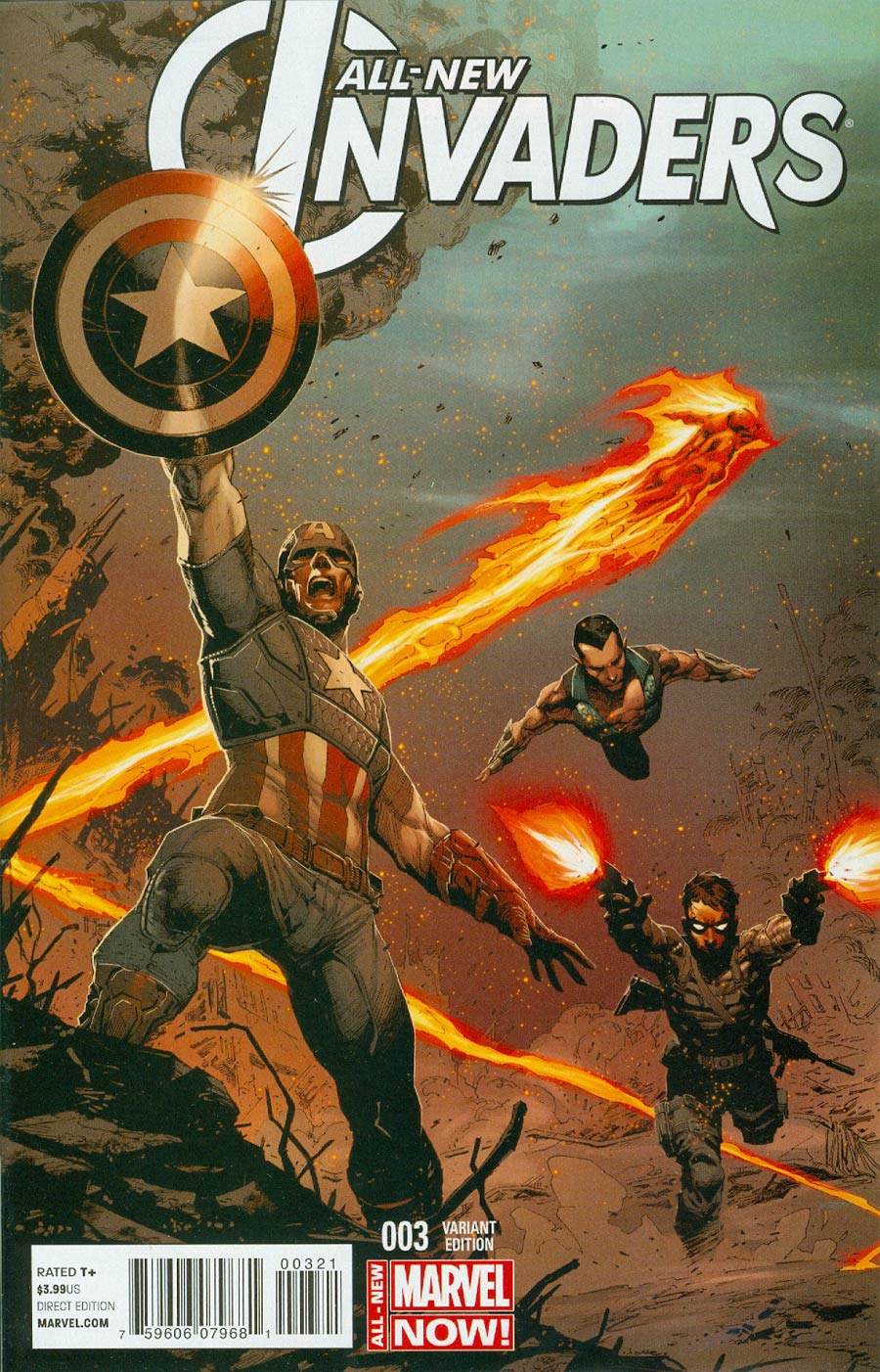 All-New Invaders #3 Cover C Incentive Jerome Opena Variant Cover