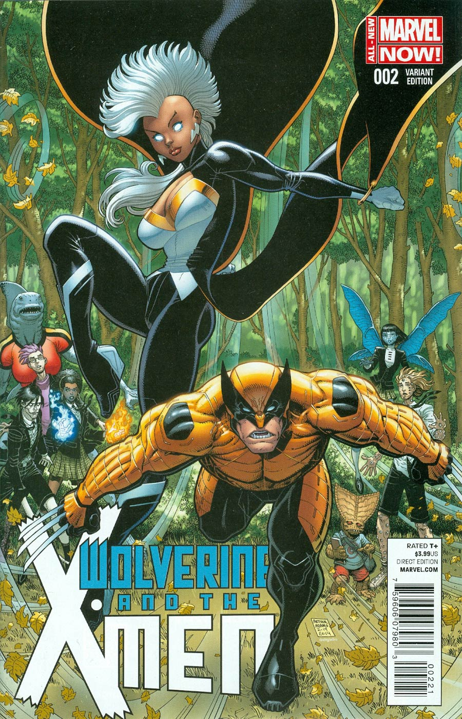 Wolverine And The X-Men Vol 2 #2 Cover B Incentive Variant Cover