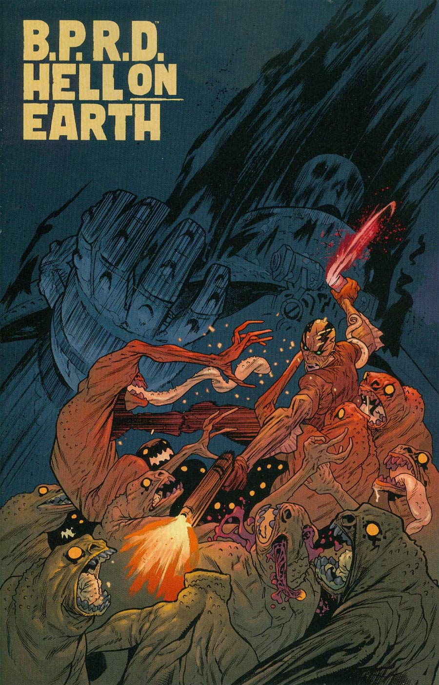 BPRD Hell On Earth #117 Cover B Incentive James Harren Variant Cover