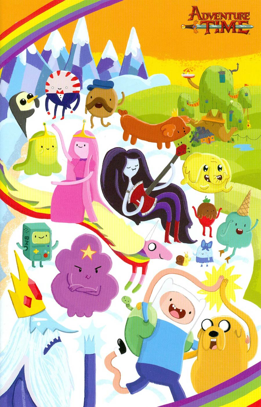 Adventure Time #26 Cover D Incentive Vicky Barker Virgin Variant Cover