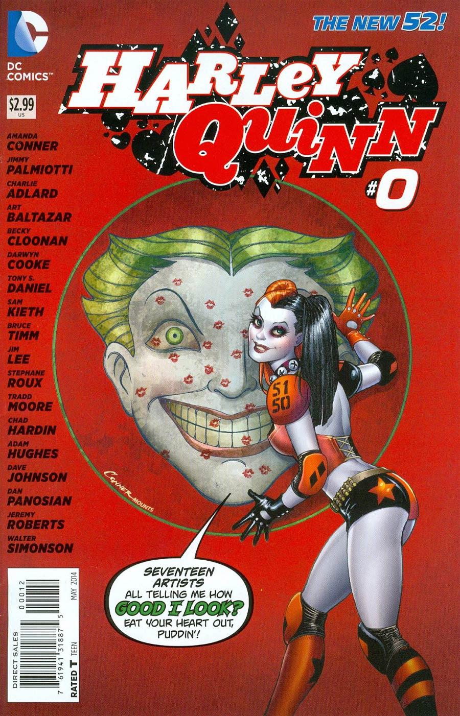 Harley Quinn Vol 2 #0 Cover D 2nd Ptg Variant Cover