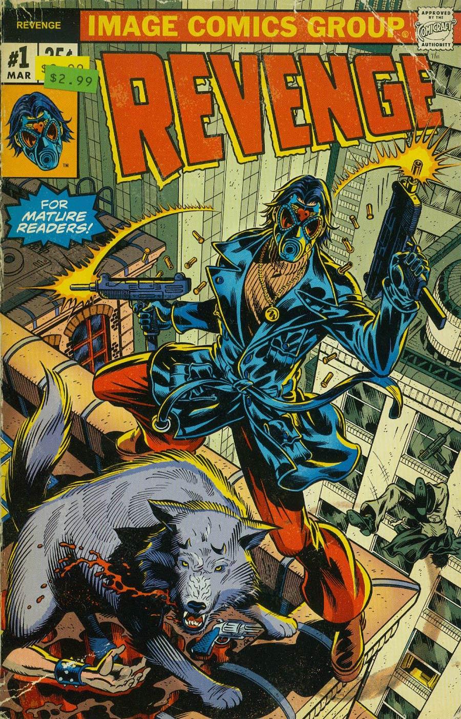 Revenge #1 Cover B 2nd Ptg Variant Cover