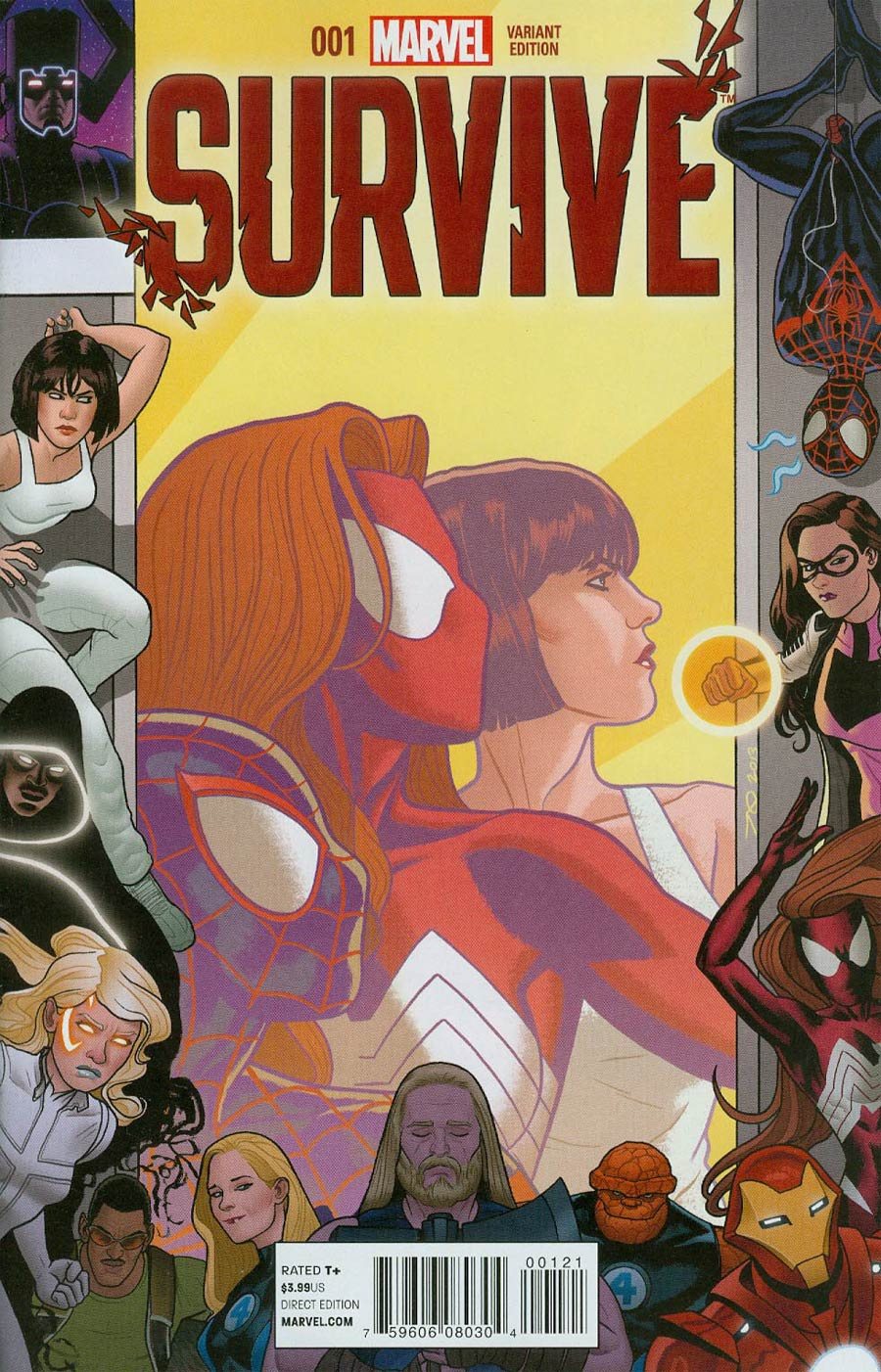 Survive Cover B Incentive Joe Quinones Variant Cover