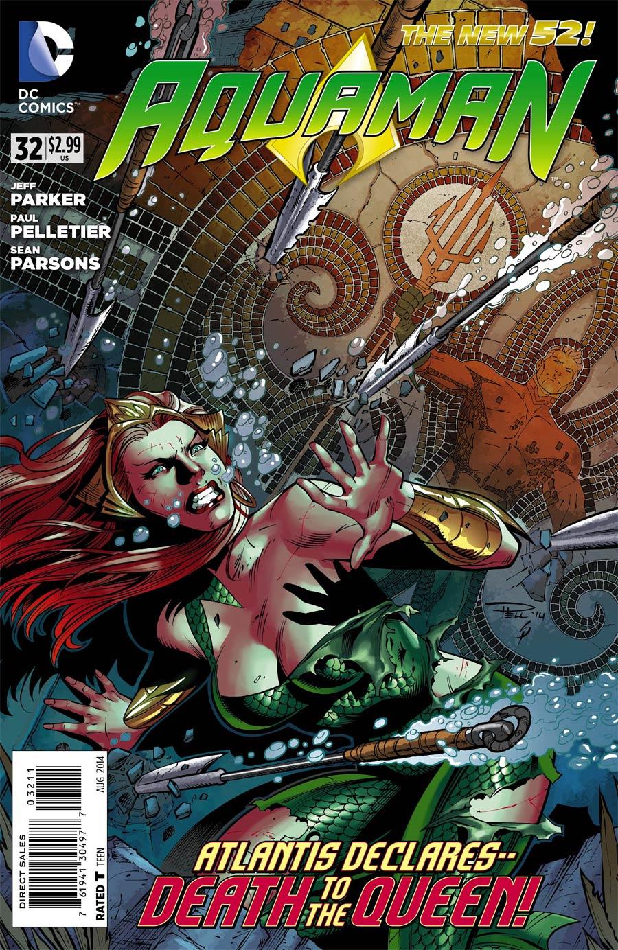 Aquaman Vol 5 #32 Cover A Regular Paul Pelletier Cover