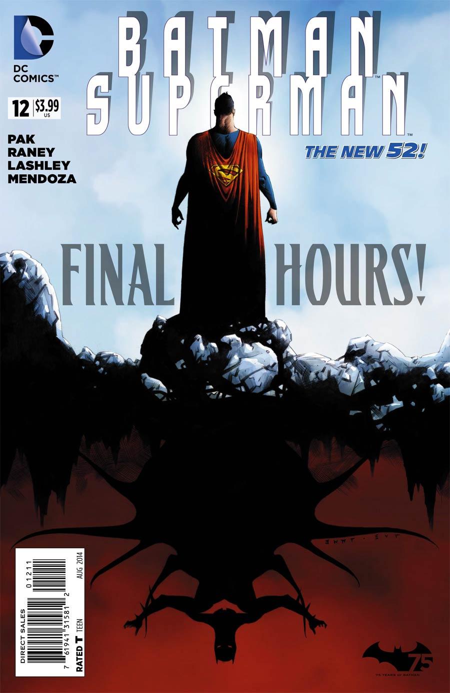 Batman Superman #12 Cover A Regular Jae Lee Cover