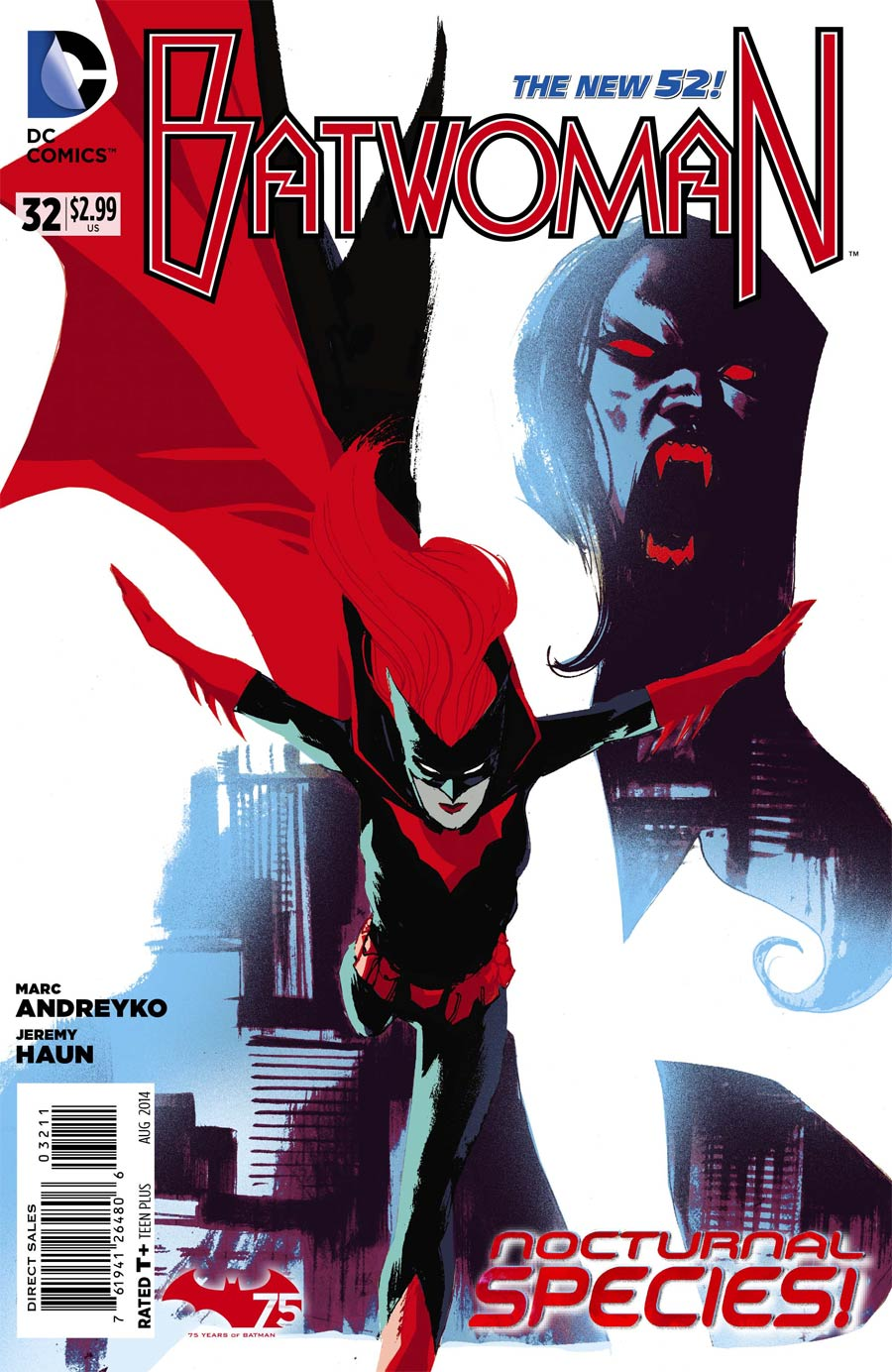 Batwoman #32 Cover A Regular Rafael Albuquerque Cover