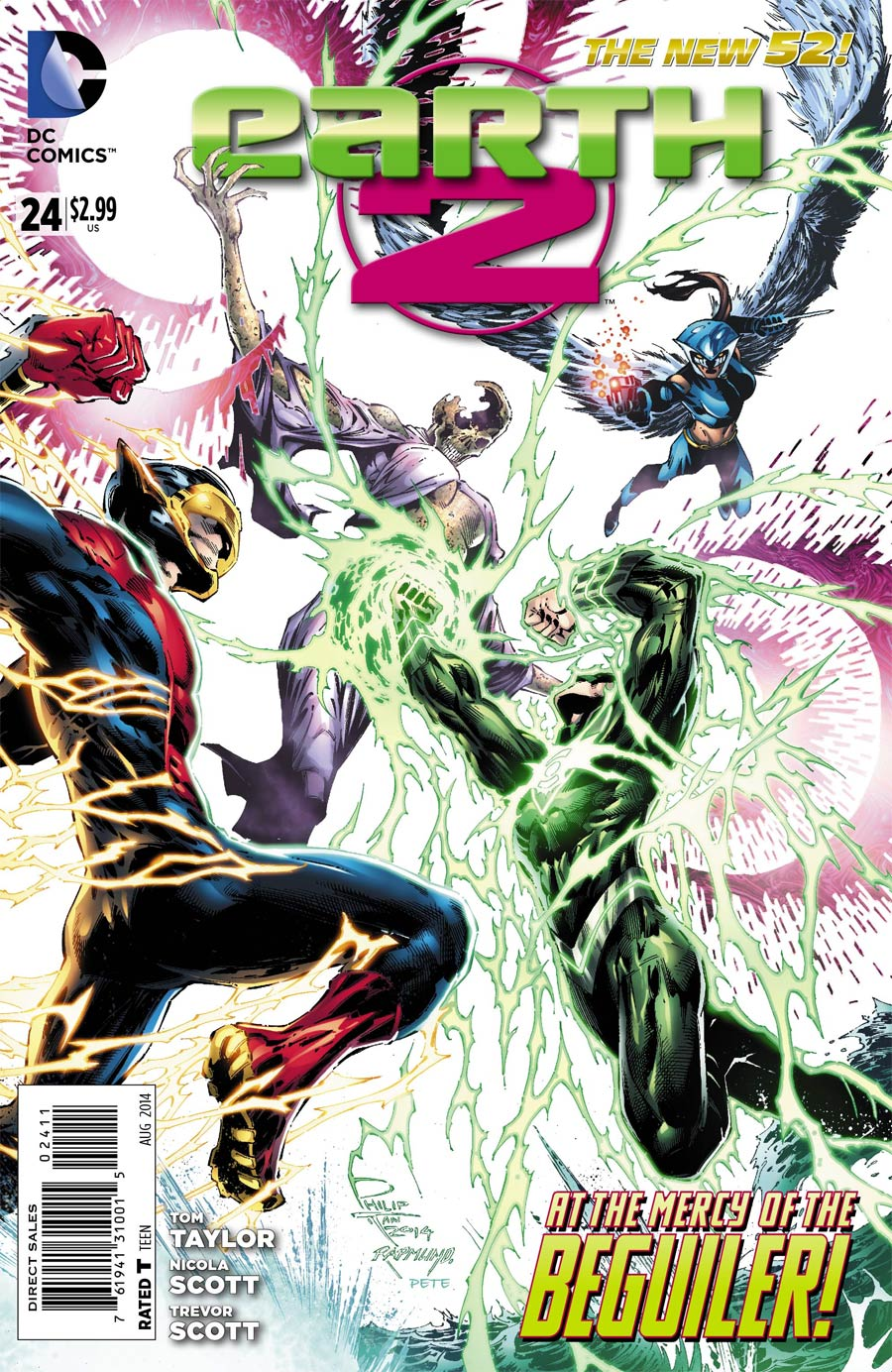 Earth 2 #24 Cover A Regular Philip Tan Cover