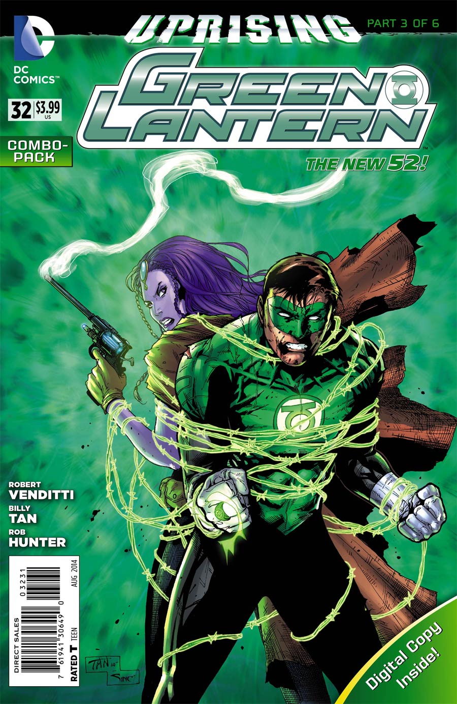 Green Lantern Vol 5 #32 Cover C Combo Pack With Polybag (Uprising Part 3)