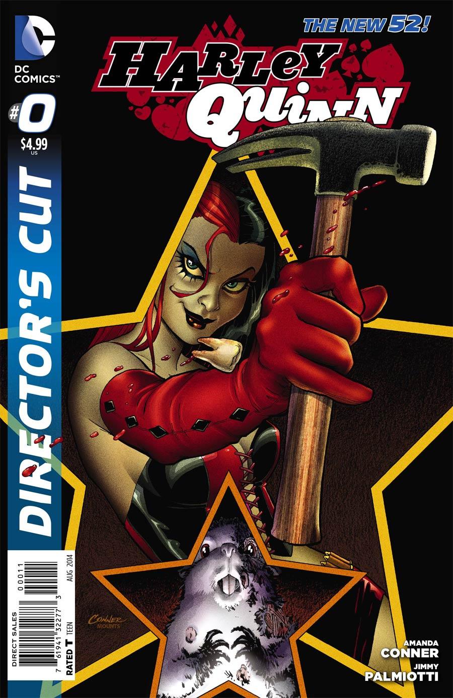 Harley Quinn Vol 2 #0 Cover E Directors Cut 1st Ptg