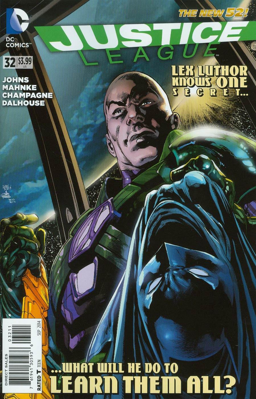 Justice League Vol 2 #32 Cover A Regular Ivan Reis Cover